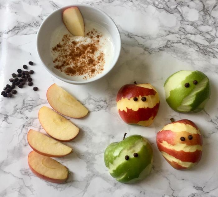 jolies pommes idée recette Halloween