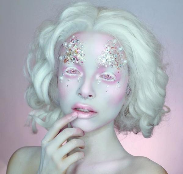 maquillage facile pour halloween femme fée