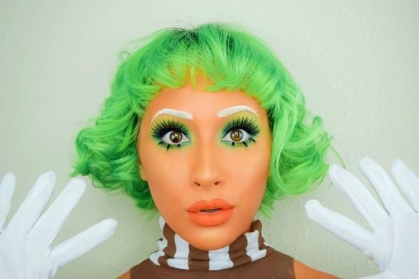 maquillage facile pour halloween femme poupée