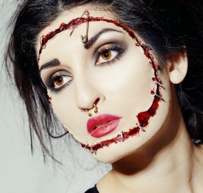 maquillage facile pour halloween femme
