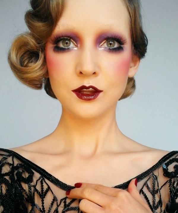 maquillage facile pour halloween poupée femme