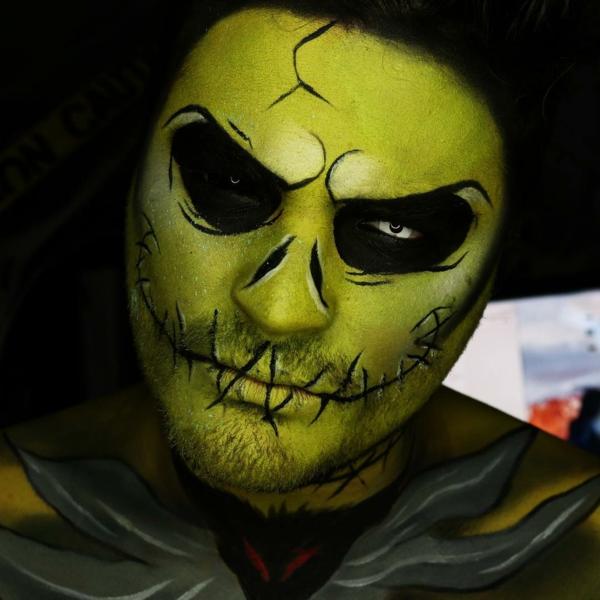 maquillage homme idée de maquillage pour halloween