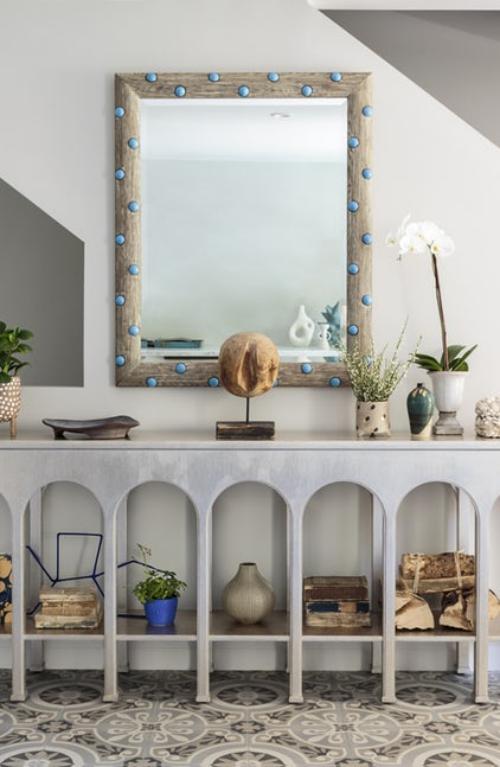 miroir Ikea étagères originales
