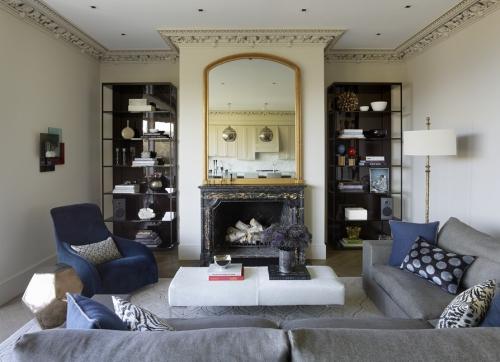 miroir Ikea un salon cosy
