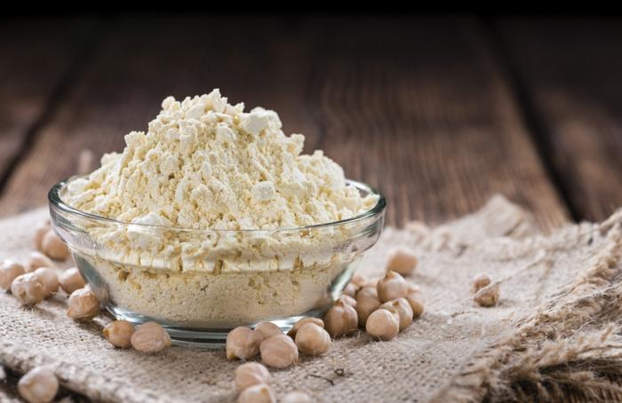 par quoi remplacer la farine de blé farine pois chiches