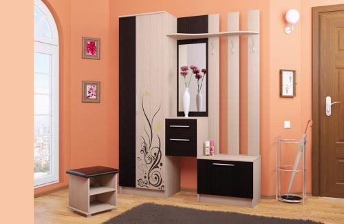 peinture couloir moderne espace meubl é