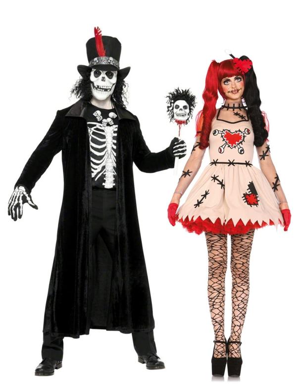 personnages horribles idée de déguisement couple halloween