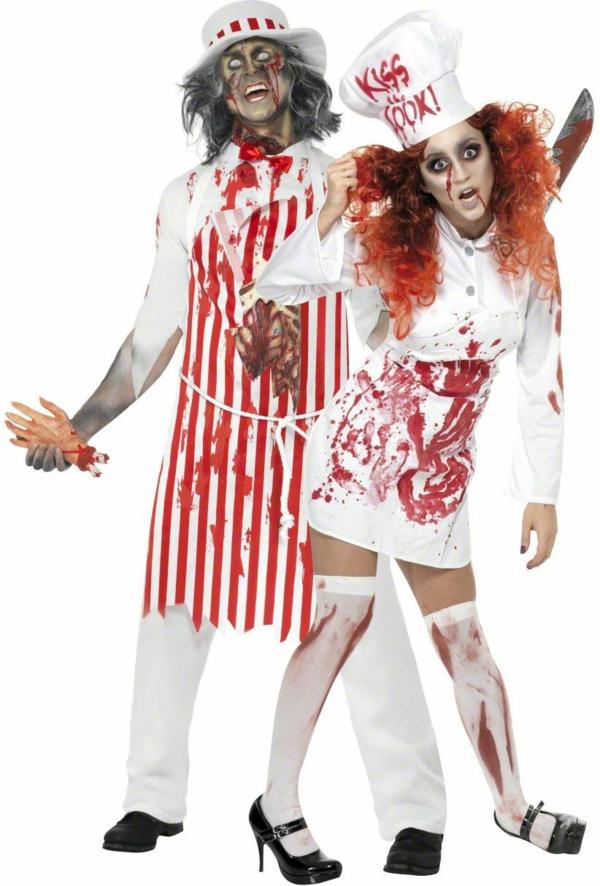 personnages terrifiants idée de déguisement couple halloween