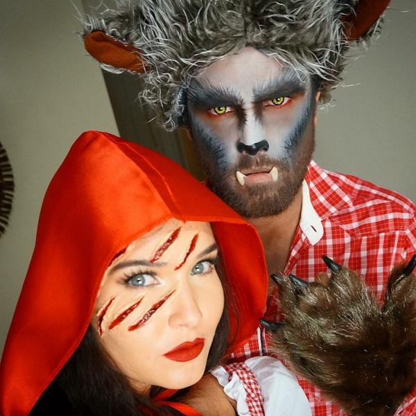 petit chaperon rouge et le loup idée de déguisement couple halloween