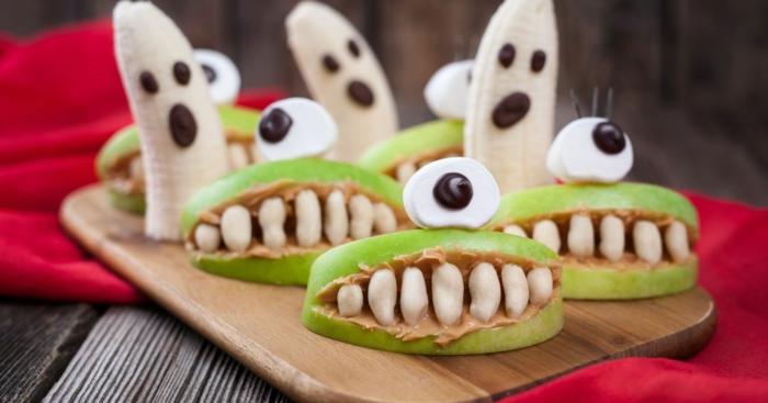 pommes idée recette halloween