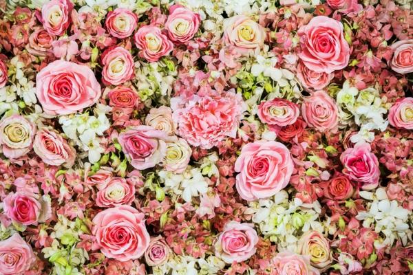 quelles fleurs pour bouquet de mariée artificiel