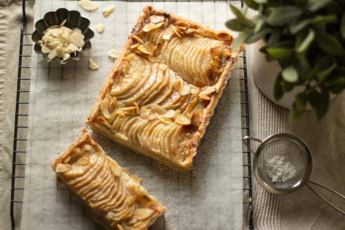 recette tarte amandine aux poires pour un dessert unique