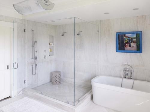 salle de bains avec suites fonction double