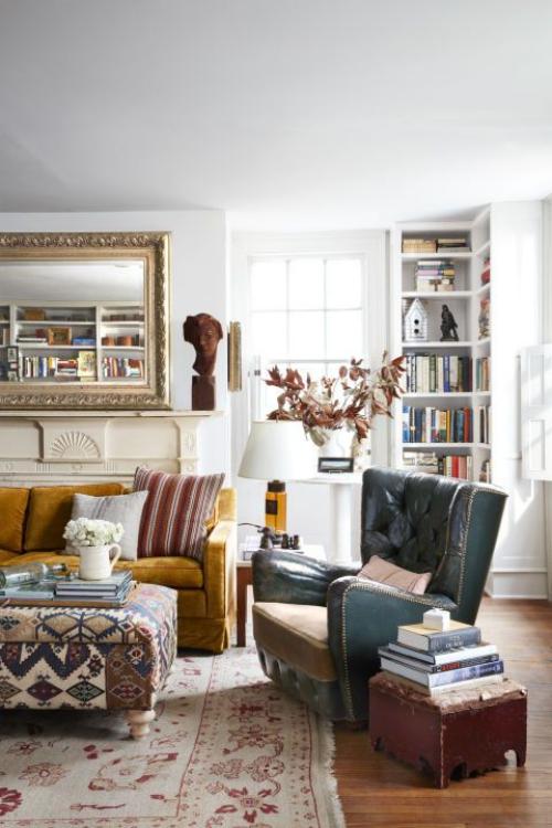 salon confortable pour une lecture au calme