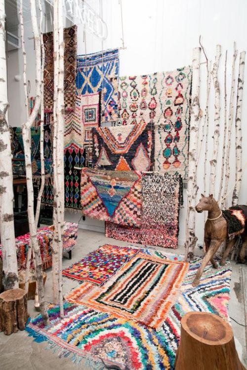 tapis marocain boutique à tapis