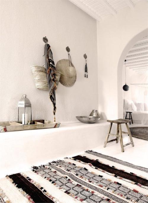 tapis marocain coin Afrique