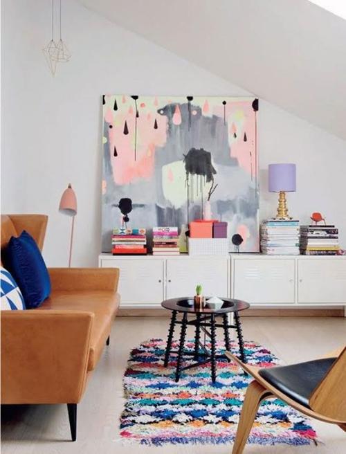 tapis marocain plafon en pente