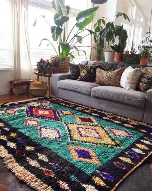 tapis marocain sol bien isolé