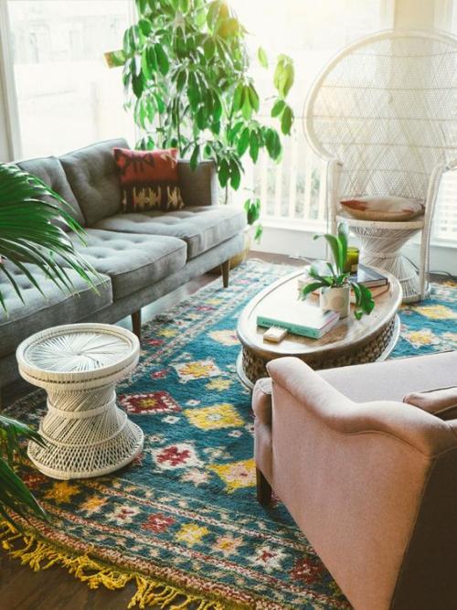 tapis marocain style moderne
