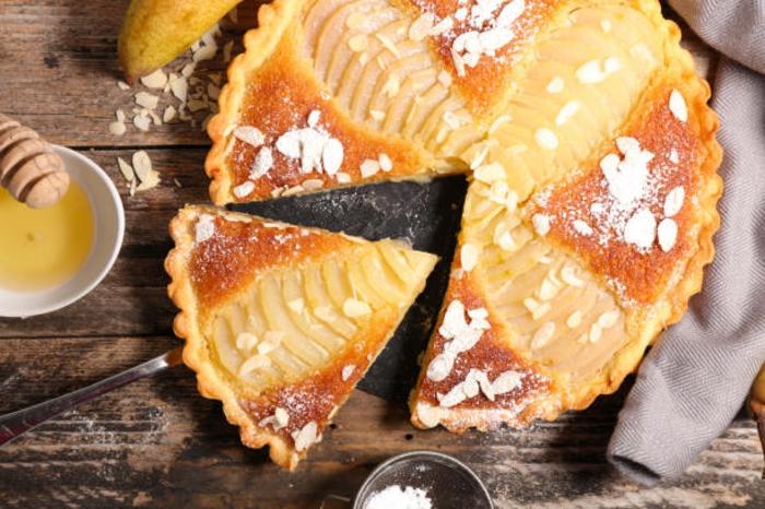 tarte amandine aux poires classique
