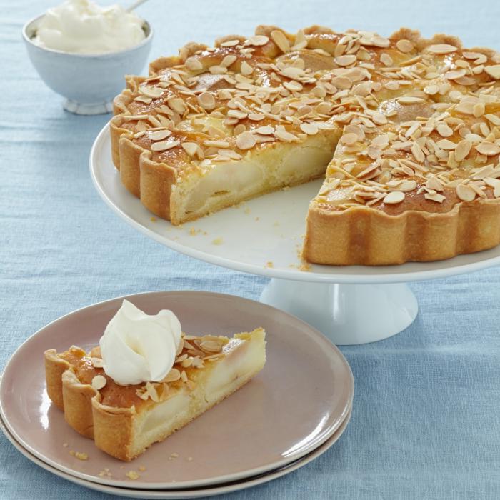 tarte amandine aux poires dessert