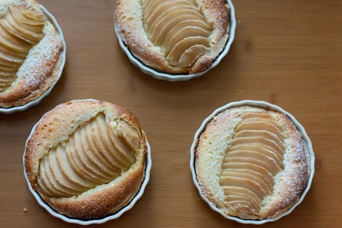 tarte amandine aux poires et pommes