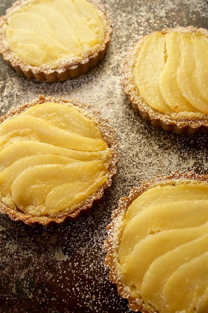 tarte amandine aux poires tartalettes