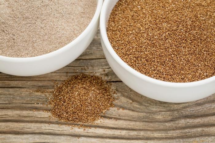 teff farine par quoi remplacer la farine de blé