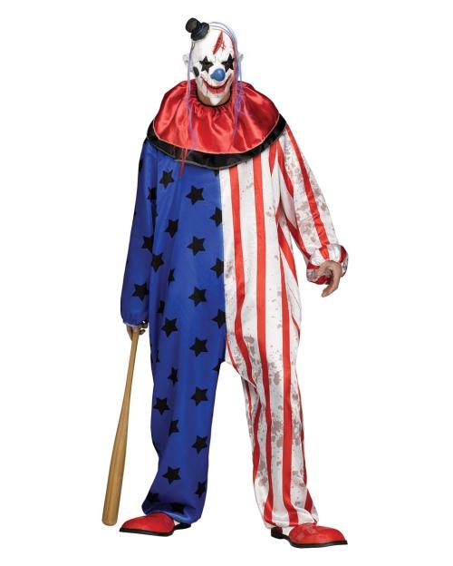 Halloween clown horreur costume pour homme