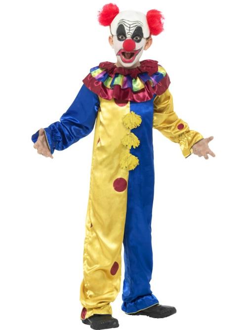 Le déguisement Halloween clown horreur costume pour garçon