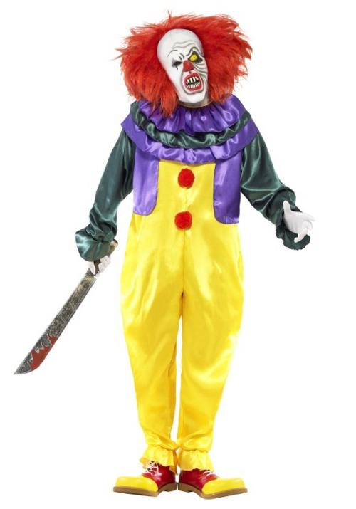 Le déguisement Halloween clown horreur le clown aveugle