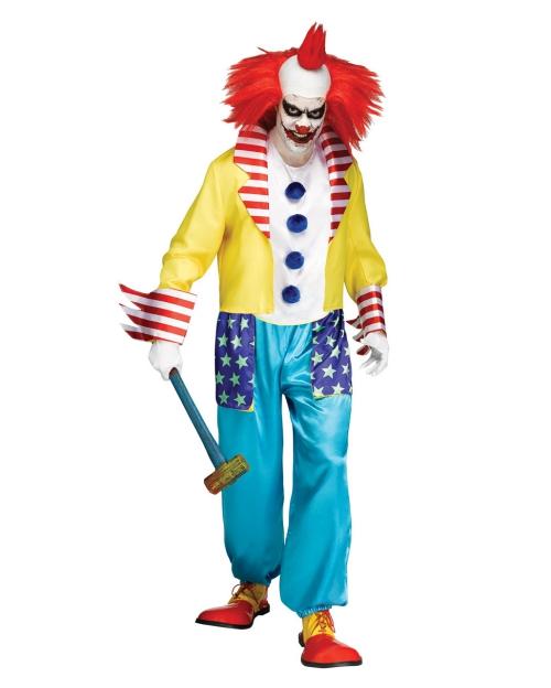 Le déguisement Halloween clown horreur tenue drôle