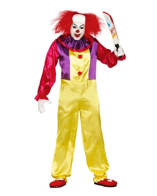 Le déguisement Halloween clown horreur toujours un couteau
