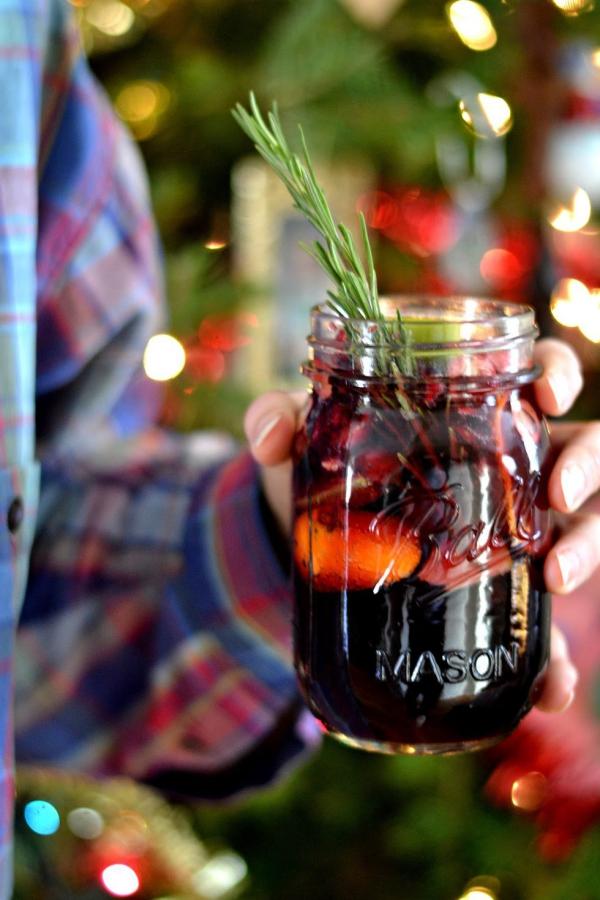apéro dînatoire fête de Noëlsangria d'hiver