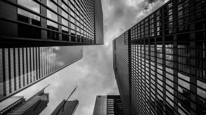 architecture idée de photographie noir et blanc