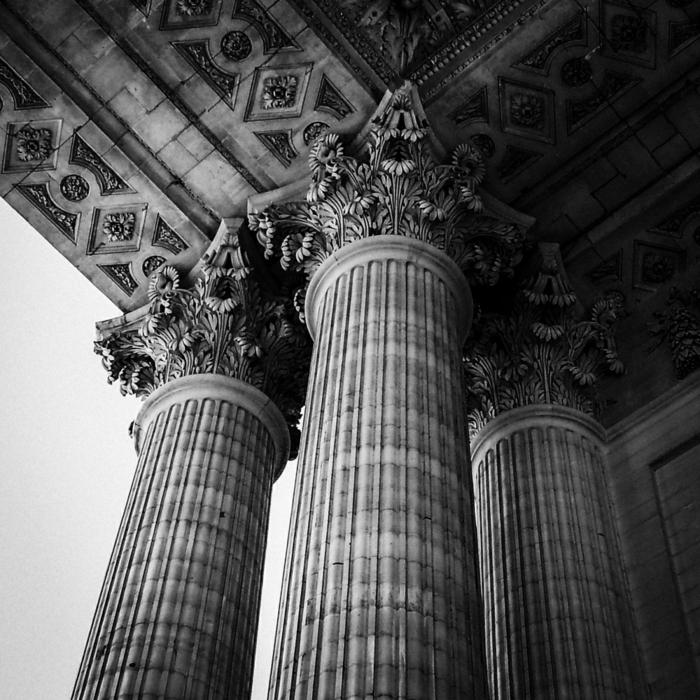architecture idée photographie noir et blanc