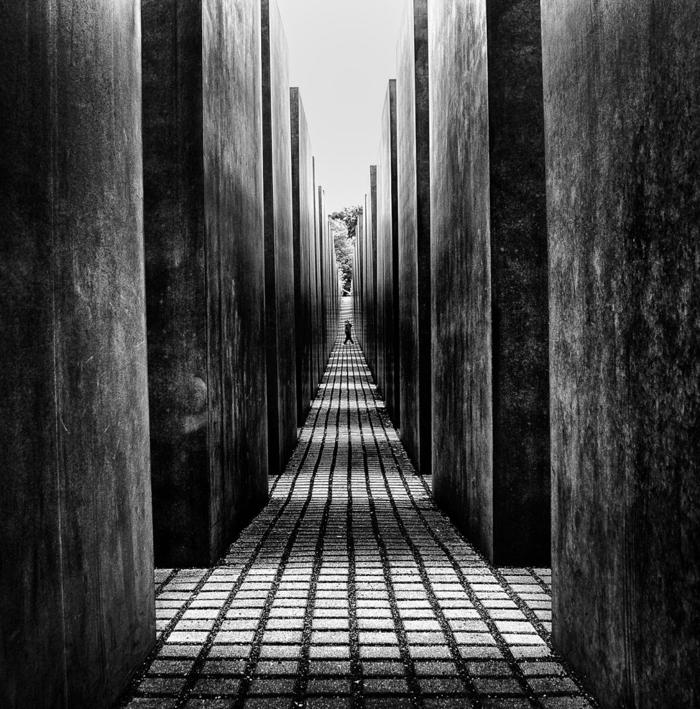 art dans la maison photographie noir et blanc