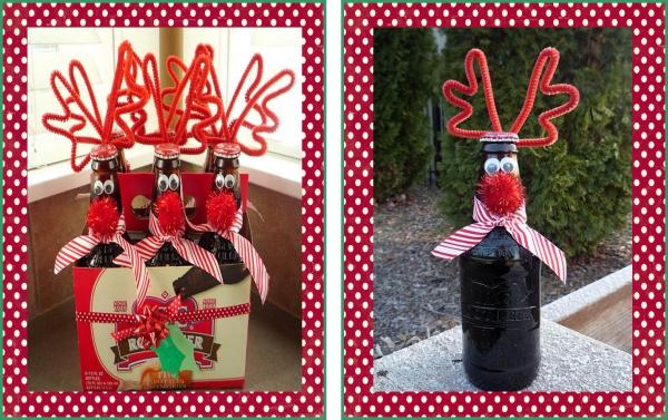 cadeau Noël à faire soi-même bières sympas