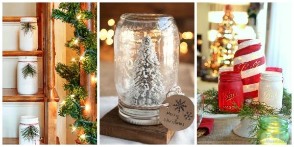 cadeau Noël à faire soi-même bocaux brillants