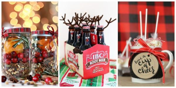 cadeau Noël à faire soi-même bouteilles et bocaux