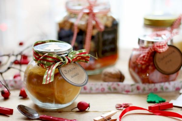 cadeau Noël à faire soi-même des bocaux sympas