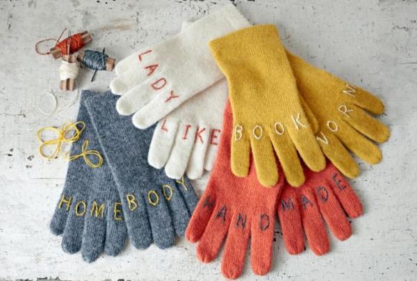 cadeau Noël à faire soi-même gants chauds
