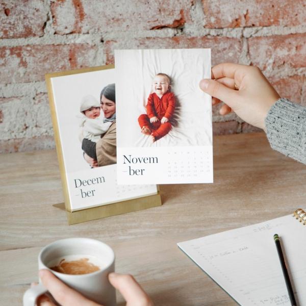 cadeau de noël maman à faire soi-même calendrier personnalisé