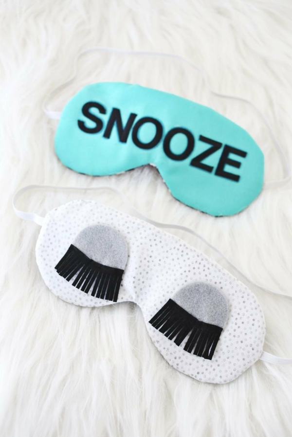 cadeau de noël maman à faire soi-même masque de sommeil