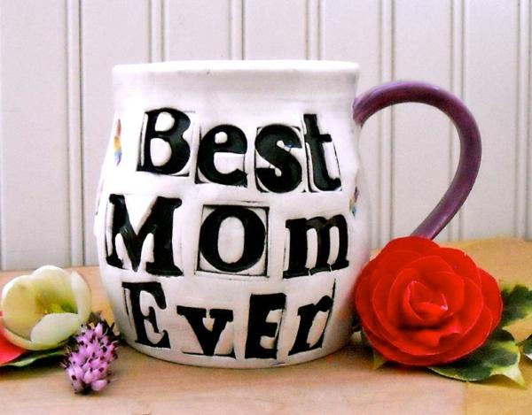 cadeau de noël maman à faire soi-même mug personnalisé