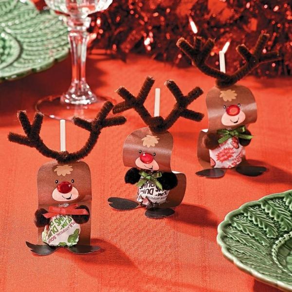 cadeau de noël maman à faire soi-même sucettes décorées