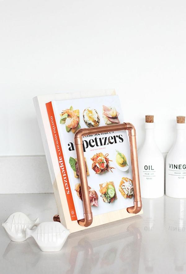 cadeau de noël maman à faire soi-même support de livre de cuisine
