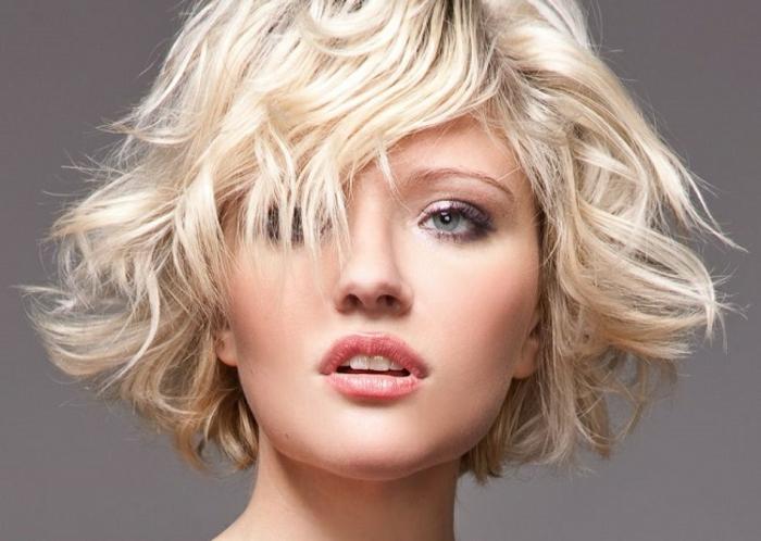 carré dégradé coiffure
