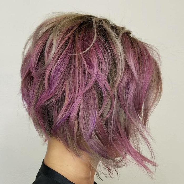 coiffure tendance carré dégradé