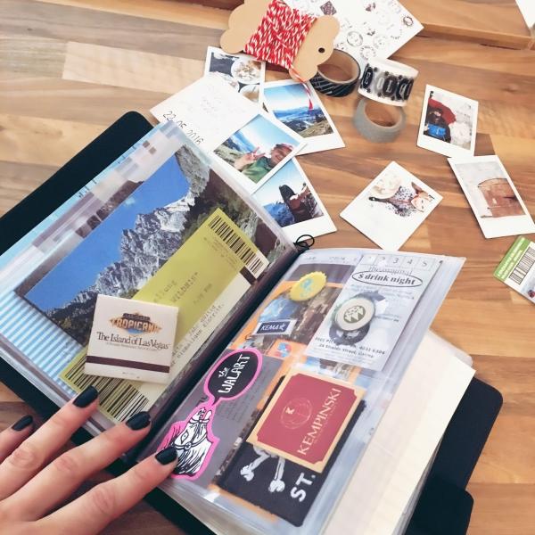 comment faire un carnet de voyage comme album